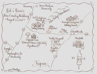 Kirk & Kerri map