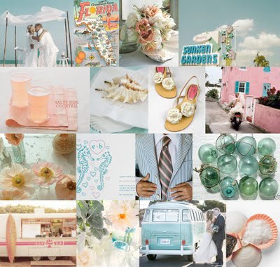363-kitschy-key-west-bubble-gum-pink-aqua-blue-wedding-inspiration-board