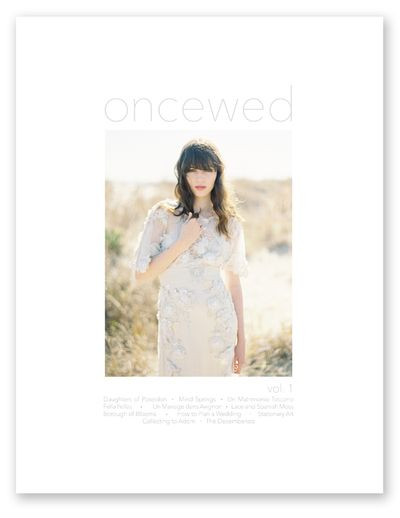 Oncewed-print-magazine-cover-vol-1