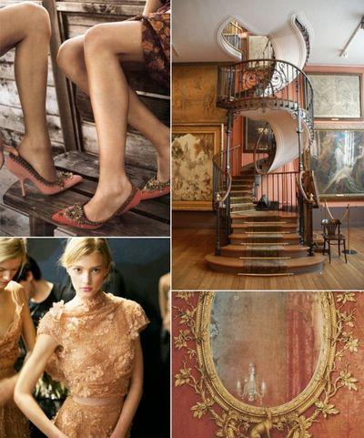 Coral-gold-brown-ornate-wedding-ideas-600x722