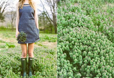 Denim-bridesmaid-hunter-boots