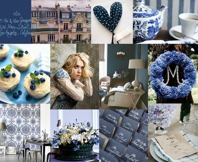 Blue-inspiration-board