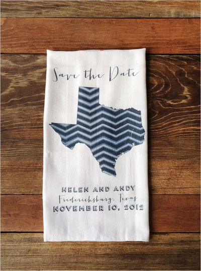 Savethedatetowels