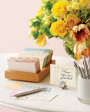 Indexcardguestbook