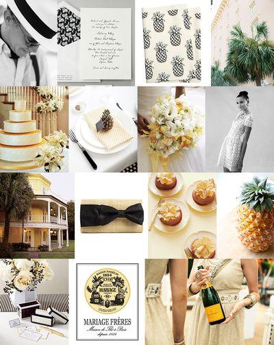 Preppy-pineapple-wedding-ideas