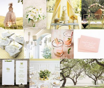 Pink-and-yellow-spring-wedding
