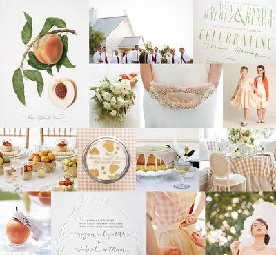 Peach-themed-wedding