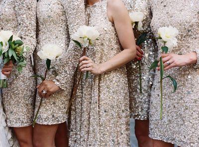 Sequin-Gold-Bridesmaids-Dresses-600x442