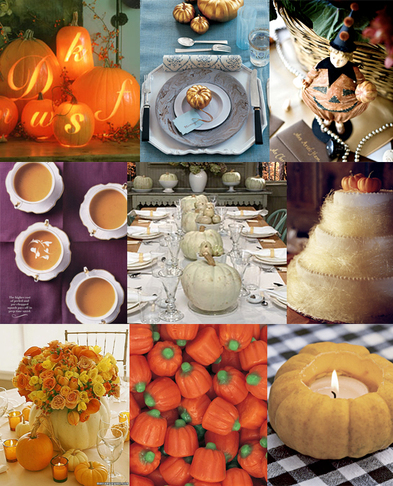 row pumpkin soup photo by Kirsten Strecker white pumpkin centerpieces